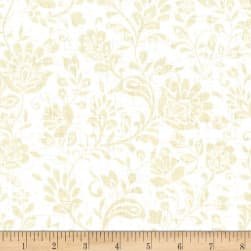 Michael Miller Plume You're So Vine Ivory Fabric