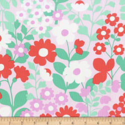 Michael Miller Hank And Clementine Abigail Pink Fabric