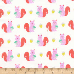 Michael Miller Hank And Clementine Clementine Coral Fabric