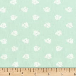 Michael Miller Hank And Clementine June Mint Fabric