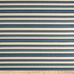 Sunformance Indoor/Outdoor Boardwalk Stripe CoastalBasketweave Fabric