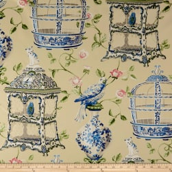 Waverly Objet D'Art Twill Porcelain Fabric