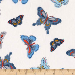 Michael Miller Daisy Paisley All-A-Flutter Teal Fabric