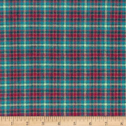 Marcus Primo Plaids Flannel Twilight Tones Pink Fabric