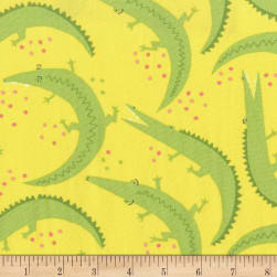 Michael Miller Everglades Chomp Sunshine Fabric