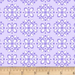 Michael Miller Project Dovetail Pomegranate Seeds Lilac Fabric