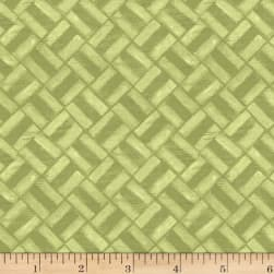Michael Miller Project Dovetail Mini Grid Moss Fabric