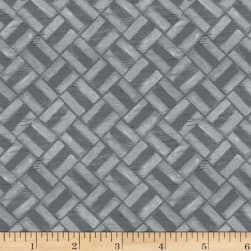 Michael Miller Project Dovetail Mini Grid Fog Fabric