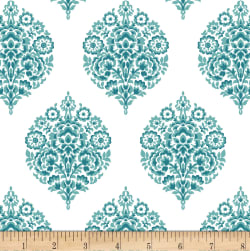 Michael Miller Project Dovetail Corsage Water Fabric