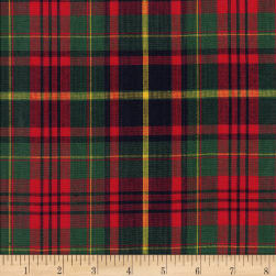Classic Yarn-dyed Tartan Plaid Red/Green/Yellow