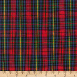 Classic Yarn-dyed Tartan Plaid Red/Blue/Green