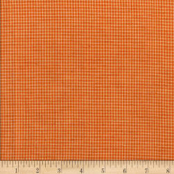 Rustic Woven Small Plaid Mustard/Ivory Fabric