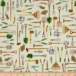 QT Fabrics A Gardening We Grow Gardening Tools