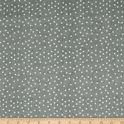 QT Fabrics Fowl Play Feed Dot Lt. Gray