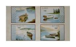 QT Fabrics Tranquility Water Scenic Picture Patches 24