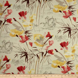 Swavelle/Mill Creek Chizoba Barkcloth Tumbleweed Fabric