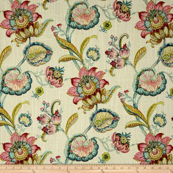 Swavelle/Mill Creek Pickett Floral Duck Windflower Fabric