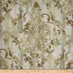 Swavelle/Mill Creek Cauthen Damask Barkcloth Wheat Fabric