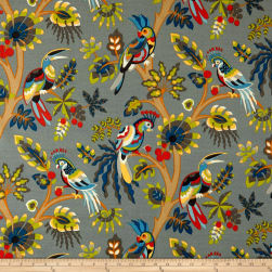 Swavelle/Mill Creek Indoor/Outdoor Tailfeather Twilight Fabric
