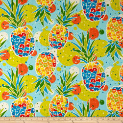 Swavelle/Mill Creek Indoor/Outdoor Hala Kahiki Tropic Blue Fabric