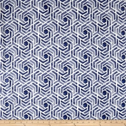 Swavelle/Mill Creek Indoor/Outdoor Leisure Navy Fabric