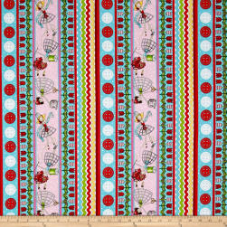 QT Fabrics The Quilted Cottage Sewing Fairies Decorative