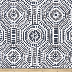 Premier Prints Bricktown Slub Linen Italian Denim Fabric