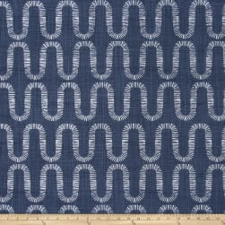 Premier Prints Genesis Slub Canvas Space Blue Fabric