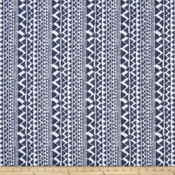 Premier Prints Mario Slub Linen Space Blue Fabric