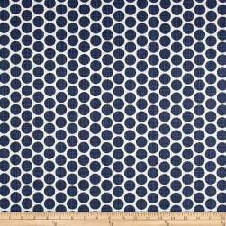 Premier Prints Paco Slub Canvas Space Blue Fabric