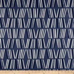 Premier Prints Ricardo Slub Canvas Space Blue Fabric