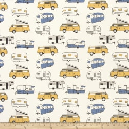 Premier Kids Vintage Camper Macon Chill Fabric