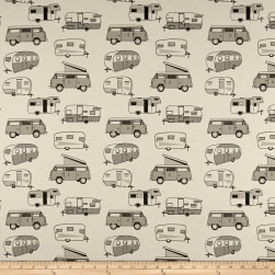 Premier Kids Vintage Camper Macon Lead Fabric