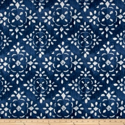 Premier Prints Avilia Slub Canvas Prussian Blue Fabric