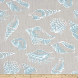 Premier Prints Beach Treasure Slub Canvas Fountain Fabric