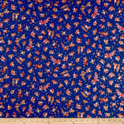 QT Fabrics Holiday Minis Santas Royal Fabric
