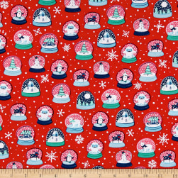 Ink & Arrow Twinkle Twinkle Snow Globes Red