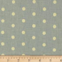 Covington Puff Dotty Basketweave Platinum Fabric