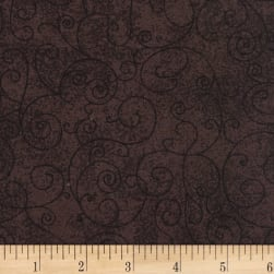 Westrade 110'' Flannel Wide Backs  Willow Brown Fabric