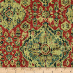 Covington Massimo Linen Moroccan Red Fabric