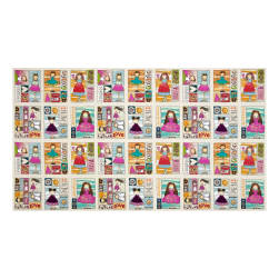 Sunshine Girls Funny Girl Panel Mutli Fabric