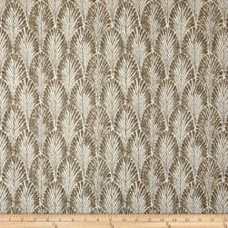 Lacefield Designs Plume Basketweave Driftwood Fabric