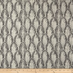 Lacefield Designs Plume Basketweave Stone Fabric