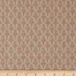 Lacefield Designs Ponce Basketweave Rose Fabric