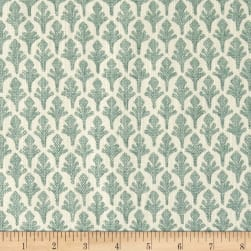 Lacefield Designs Ponce Basketweave Eucalyptus Fabric