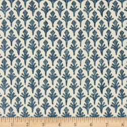 Lacefield Designs Ponce Basketweave Bluebridge Fabric