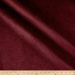Elephant Matelasse Velour Solid Berry Fabric