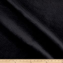 Elephant Matelasse Velour Solid Black Fabric