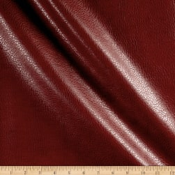 Rodeo Faux Leather Red Fabric