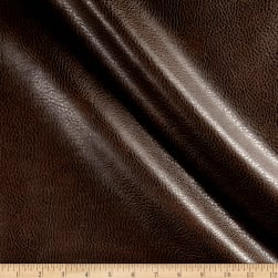 Rodeo Faux Leather Chestnut Fabric